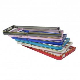 Ultra Thin Aluminium Metal Bumper Case Dual Color for Xiaomi Redmi 2 / Redmi 2 Prime - Golden