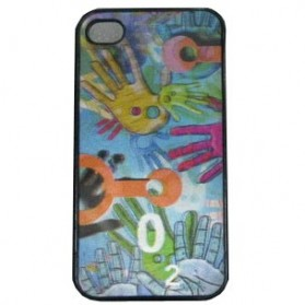 3D Plastic Case for Apple iPhone 4 - 06