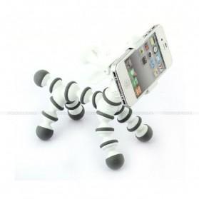 Flexible Tripod Horse Style for Smartphone - White - 6