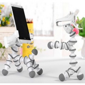 Flexible Tripod Horse Style for Smartphone - White - 7