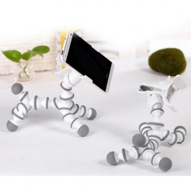 Flexible Tripod Horse Style for Smartphone - White - 8