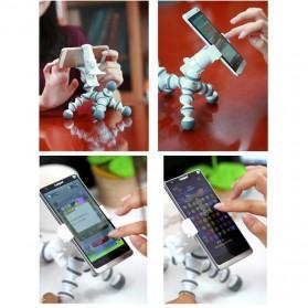 Flexible Tripod Horse Style for Smartphone - White - 10