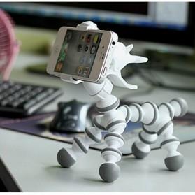 Flexible Tripod Horse Style for Smartphone - White - 11