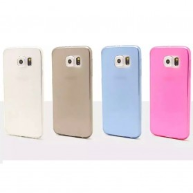 Ultrathin TPU Transparent Silicone Soft Case for Samsung Galaxy S6 - Transparent - 7