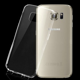 Ultra Thin TPU Case for Samsung Galaxy S6 Edge - Transparent - 2