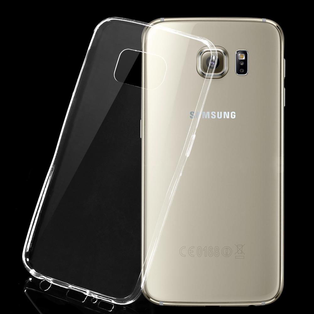 Ultra Thin TPU Case For Samsung Galaxy S6 Edge