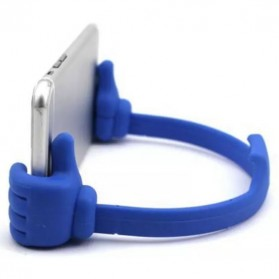 Thumb Holder for Smartphone & Tablet up to 7 Inch - Blue - 4