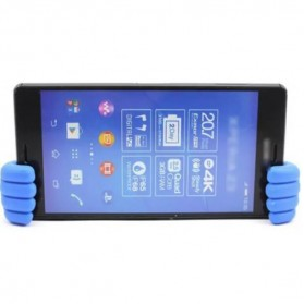 Thumb Holder for Smartphone & Tablet up to 7 Inch - Blue - 5