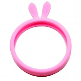 Bunny Silicon Braclet Smartphone Case - Pink