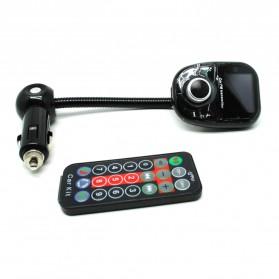 Bluetooth Handsfree FM Transmitter Car Kit MP3 Player - A2DP - Black