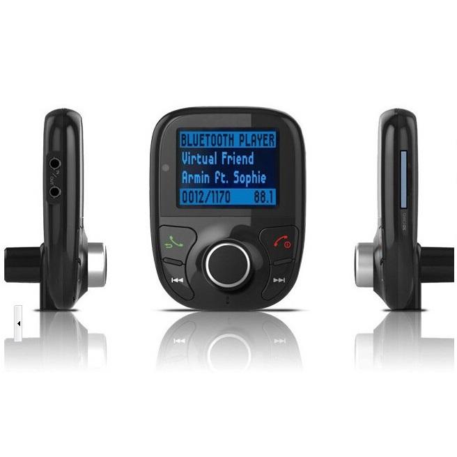 bluetooth handsfree fm transmitter car kit mp3 player. Black Bedroom Furniture Sets. Home Design Ideas