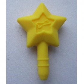 Star Anti Dust Plug Accessories - Yellow
