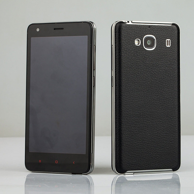 ... Ultra-Thin Leather Case for Xiaomi Redmi 2 / Redmi 2 Prime - Black ...