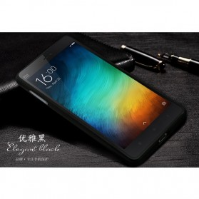 Aluminium Bumper Case with Arcylic Back for Xiaomi Mi4i / Mi4c - Black