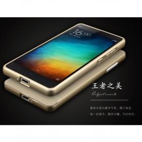 Aluminium Bumper Case with Arcylic Back for Xiaomi Mi4i / Mi4c - Black - 5