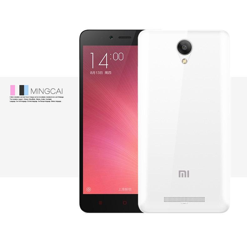 ... Ultra Thin TPU Case for Xiaomi Redmi Note 2 - Transparent - 2 ...