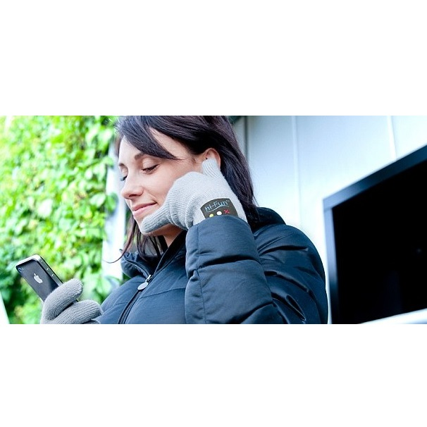 ... 3-Finger Capacitive Screen Touching Bluetooth 3.0 Hand Gloves for Smartphone - Black - 5 ...