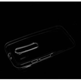 Ultra Thin TPU Case for Motorola Moto G (3rd Generation) - Transparent - 4