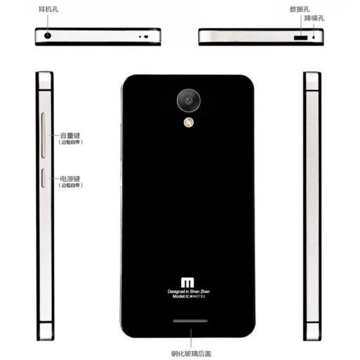 ... Aluminium Tempered Glass Hard Case for Xiaomi Redmi Note 2 - Black Blue - 3 ...
