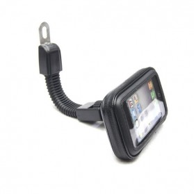 Holder Smartphone Motor Waterproof Large Size - ZJ-04 - Black - 2