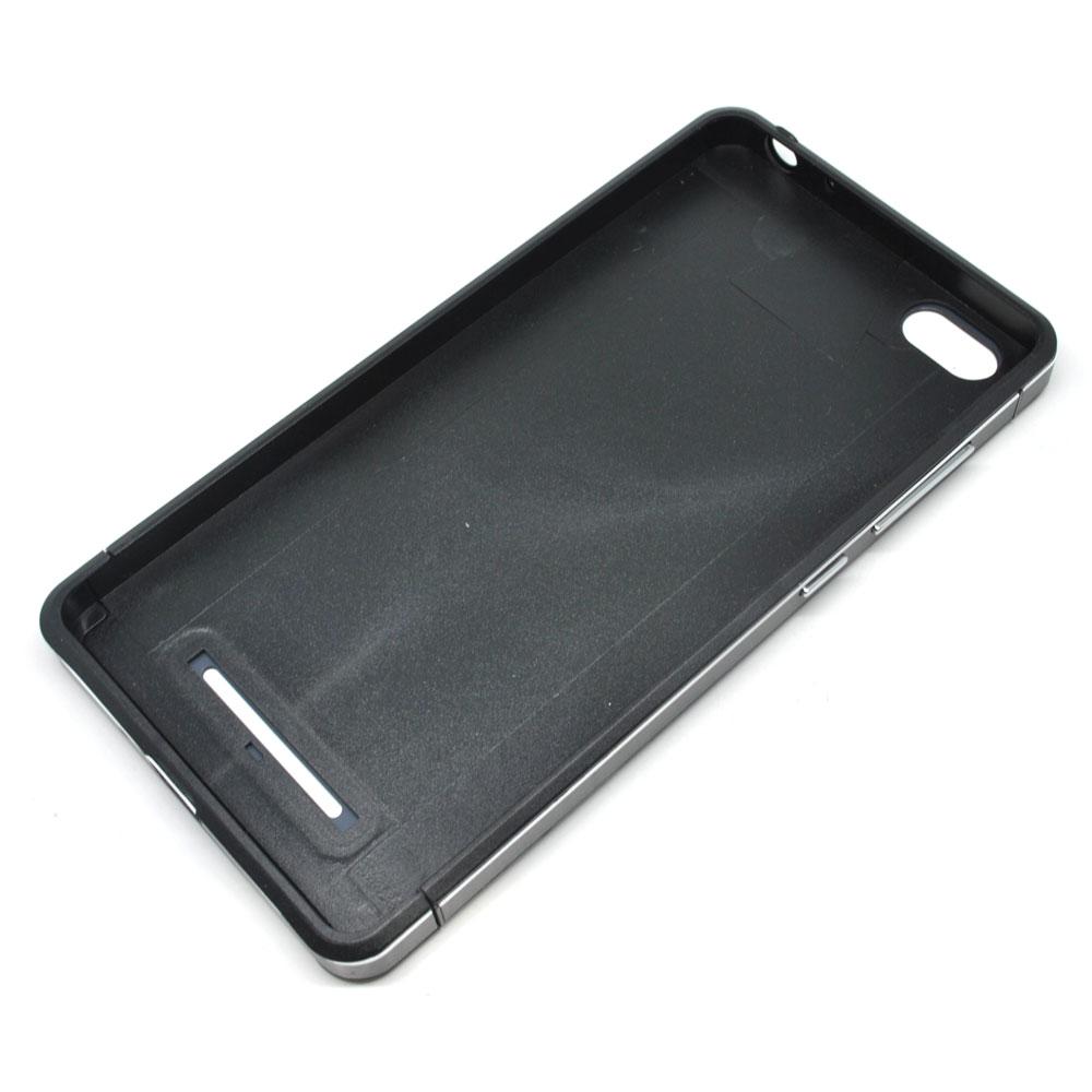 Aluminium Tempered Glass Hard Case For Xiaomi Mi4i Black Nillkin Mi4c 3