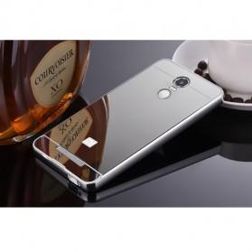 Aluminium Bumper with Mirror Back Cover for Xiaomi Redmi Note 3 / Note 3 Pro (KENZO) - Silver · Product Image