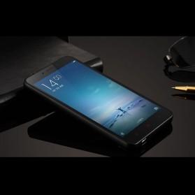 Aluminium Bumper with PC Back Cover for Xiaomi Redmi Note 2 - Black - 2