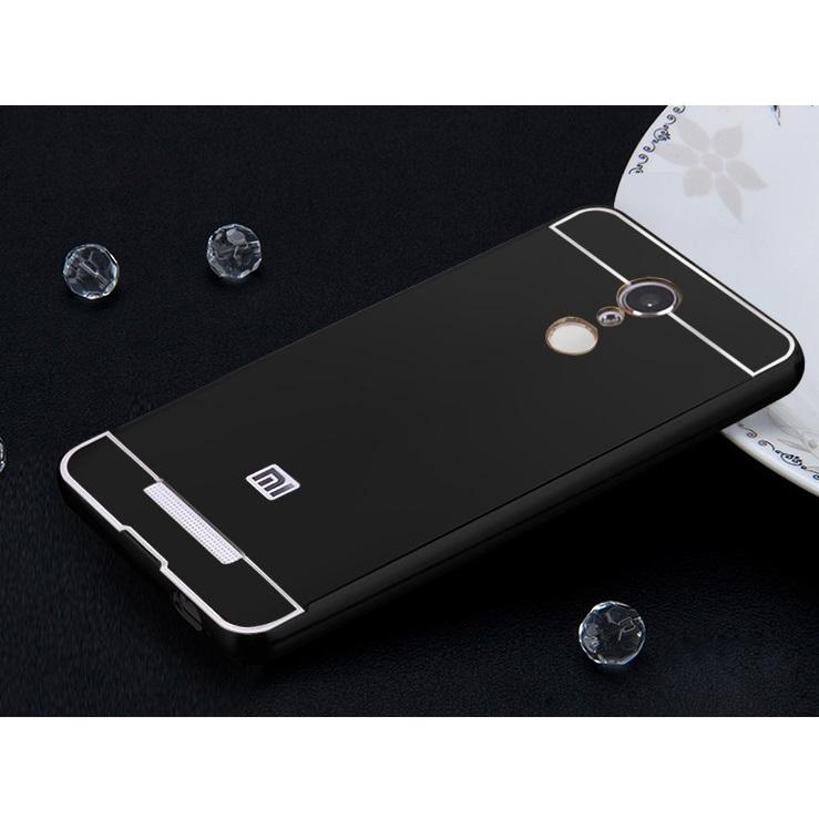 ... Aluminium Bumper with PC Back Cover for Xiaomi Redmi Note 3 / Note 3 Pro ...