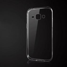 Ultra Thin TPU Case for Samsung Galaxy J1 2015 - Transparent - 2