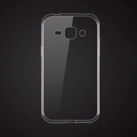 Ultra Thin TPU Case for Samsung Galaxy J1 2015 - Transparent - 3