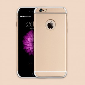 Matte Full Protective Hard Case for iPhone 6s - Golden