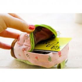 Dompet Bentuk Tas Mini - Pink - 5