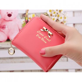 Weicken Dompet Wanita Forever Friend Bahan Kulit - B484 - Watermelon Red - 1