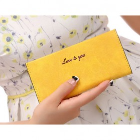Ms. Wallet Dompet Panjang Wanita - Yellow