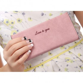Ms. Wallet Dompet Panjang Wanita Love To You - Pink