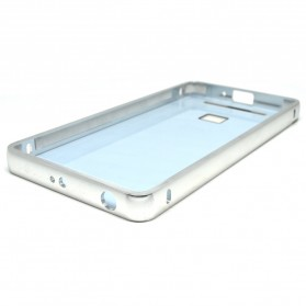 Aluminium Bumper with Mirror Back Cover for Xiaomi Redmi 3 - Silver - 6