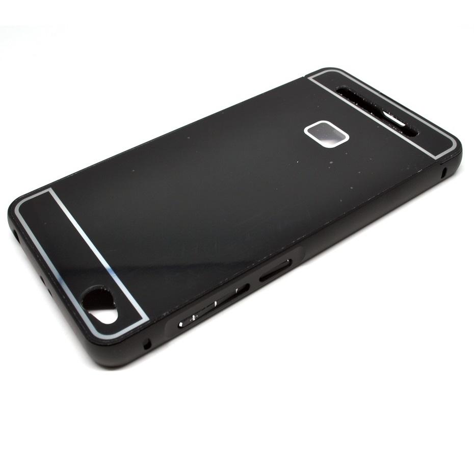 Aluminium Bumper Case With Arcylic Back For Xiaomi Redmi 3 Black 1