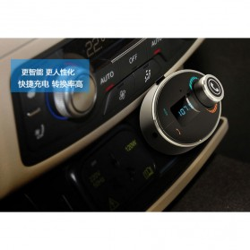 Bluetooth Car FM Transmitters with Call Function - Black - 6