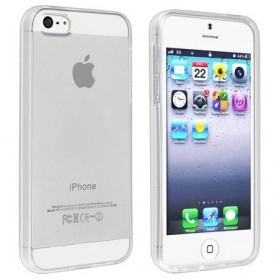 Ultra Thin TPU Case for iPhone SE/5/5s - Transparent - 2