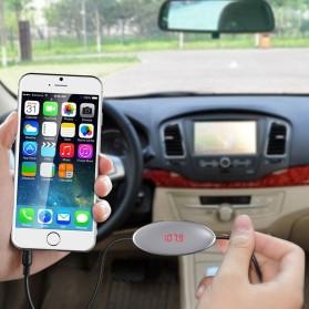 Handsfree Car FM Music Transmitters or Smartphone - FM27 - Black - 2