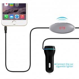 Handsfree Car FM Music Transmitters or Smartphone - FM27 - Black - 4