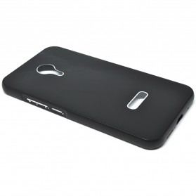 Aluminium Bumper with Mirror Back Cover for Meizu MX5 - Black/Black