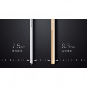 Aluminium Bumper with Wire Drawing Back Cover for Meizu Pro5 - Golden - 8
