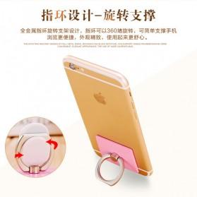 Finger iRing Smartphone Holder - Rose Gold - 4