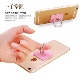 Finger iRing Smartphone Holder - Black/Black - 5