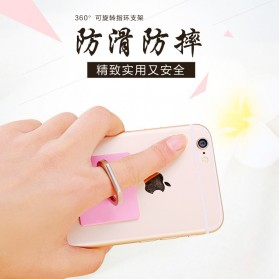 Finger iRing Smartphone Holder - Black/Black - 7