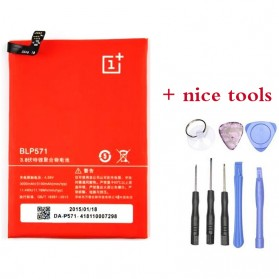 Baterai & Charger - Baterai OnePlus One High Capacity Li-ion 3100mAh with Opening Tools - BLP571