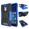 TPU + PC Anti Knock Hard Armor Style Protector Case Cover For Xiaomi Redmi Note 3 (KENZO) - Blue