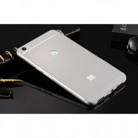 Aluminium Bumper with PC Back Cover for Xiaomi Mi Max - Silver - 2