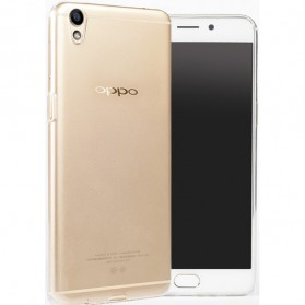 Ultra Thin TPU Case for Oppo R9 Plus - Transparent - 1